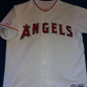 Majestic Anaheim Angels MLB Jersey Men Large